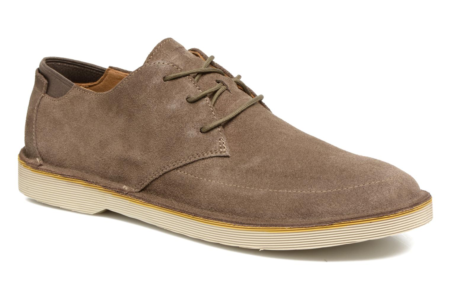 Lace-up shoes Camper Morrys Brown detailed view/ Pair view