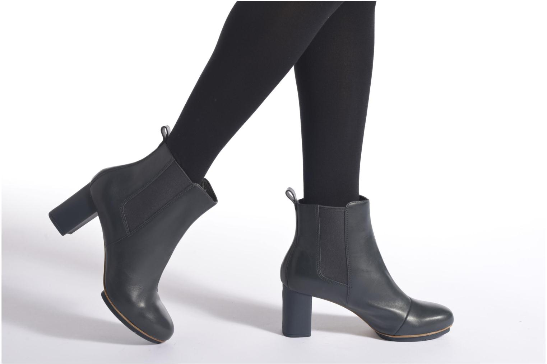 Bottines et boots Camper Myriam Bleu vue bas / vue portée sac