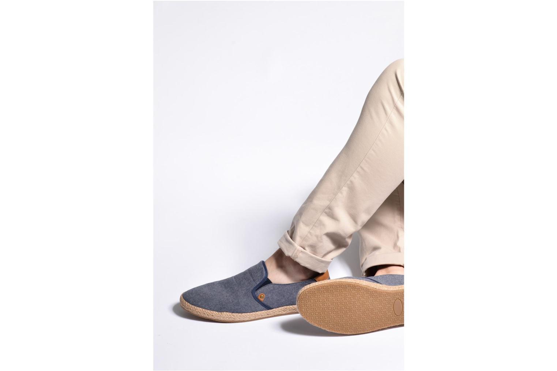 Espadrilles I Love Shoes KEDRILLE Bleu vue bas / vue portée sac