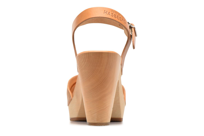 Sandales et nu-pieds Swedish Hasbeens Merci Sandal Beige vue droite