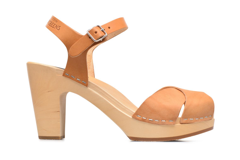 Sandales et nu-pieds Swedish Hasbeens Merci Sandal Beige vue derrière