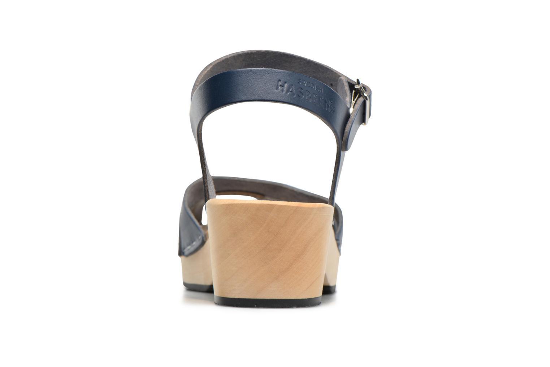 Sandales et nu-pieds Swedish Hasbeens Suzanne Debutant Bleu vue droite