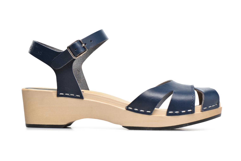 Sandales et nu-pieds Swedish Hasbeens Suzanne Debutant Bleu vue derrière