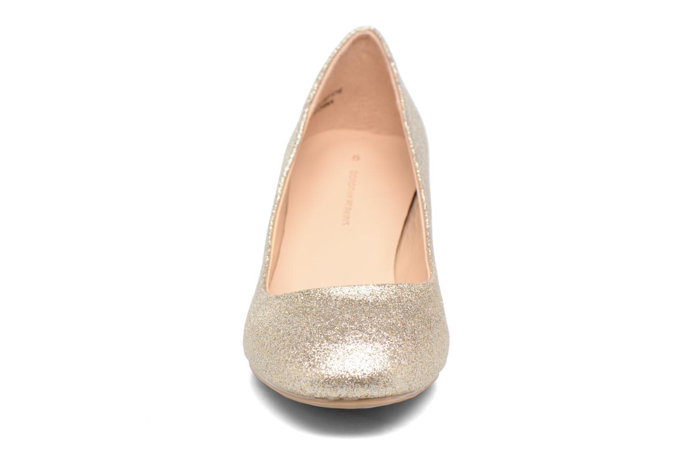 Escarpins Dorothy Perkins Daze Or et bronze vue portées chaussures