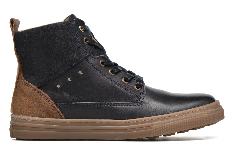 Sneakers Pantofola d'Oro Benevento II mid JR Azzurro immagine posteriore