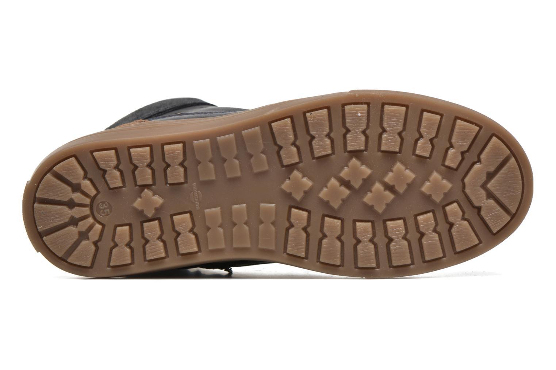 Sneakers Pantofola d'Oro Benevento II mid JR Azzurro immagine dall'alto