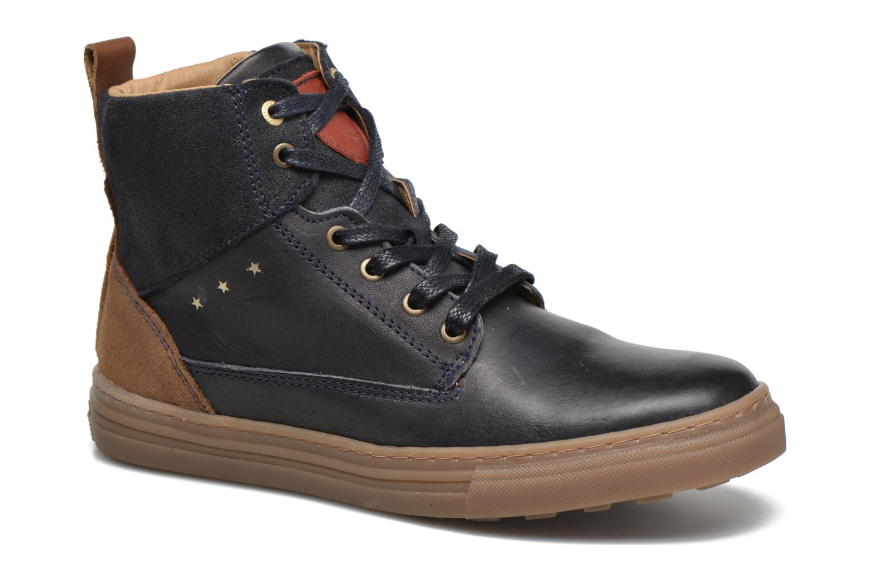 Sneakers Pantofola d'Oro Benevento II mid JR Azzurro vedi dettaglio/paio