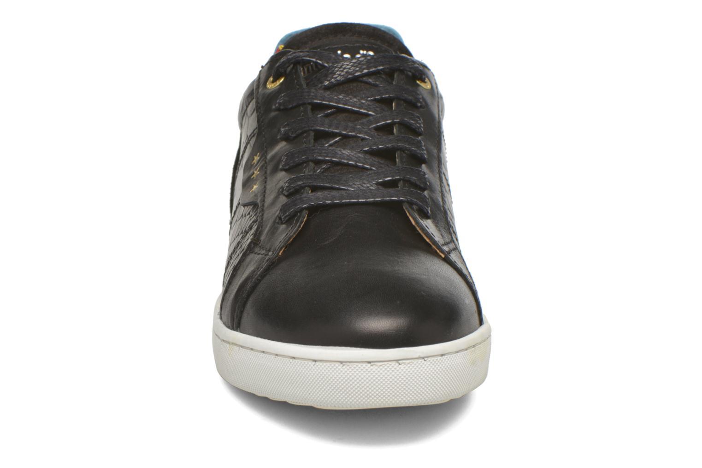 Baskets Pantofola d'Oro Montefino low JR Noir vue portées chaussures