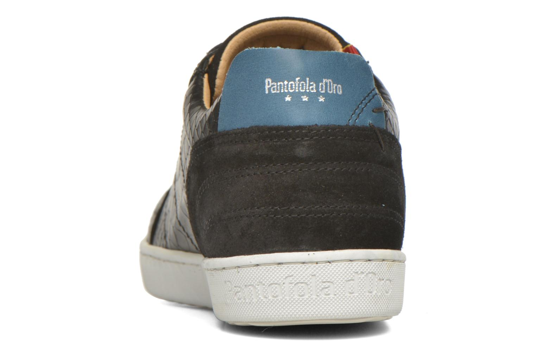 Baskets Pantofola d'Oro Montefino low JR Noir vue droite