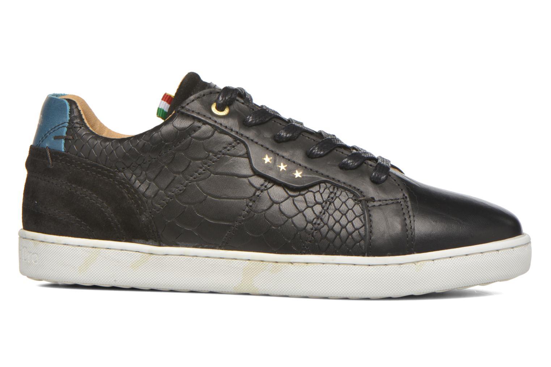 Sneaker Pantofola d'Oro Montefino low JR schwarz ansicht von hinten