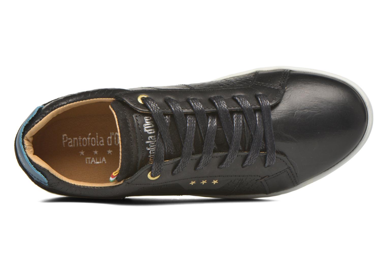 Baskets Pantofola d'Oro Montefino low JR Noir vue gauche