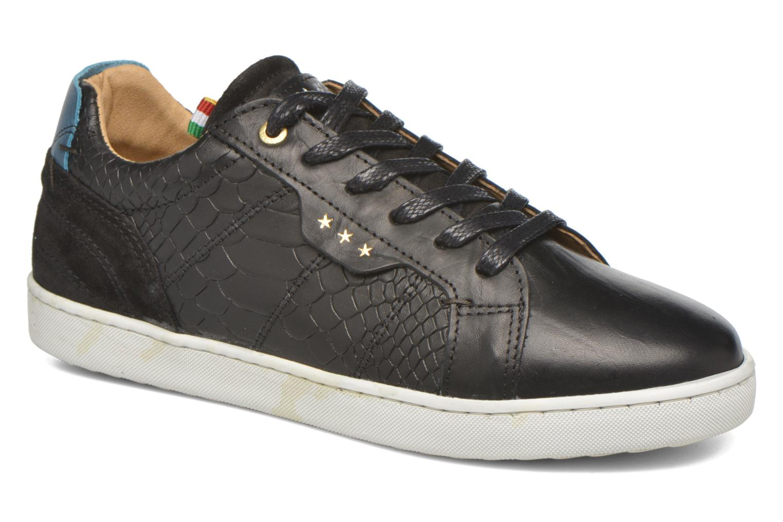 Sneakers Pantofola d'Oro Montefino low JR Sort detaljeret billede af skoene