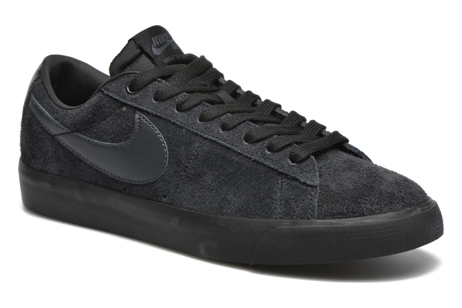 Trainers Nike Blazer Low Gt Black detailed view/ Pair view