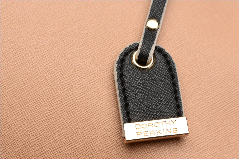 Black Tan Belted Tote Blacktan