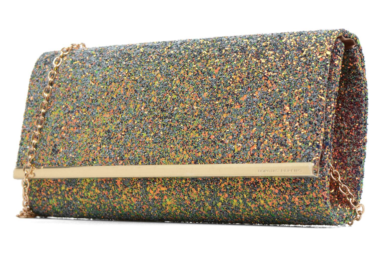 Borse Dorothy Perkins Large Structured Clutch Multicolore modello indossato
