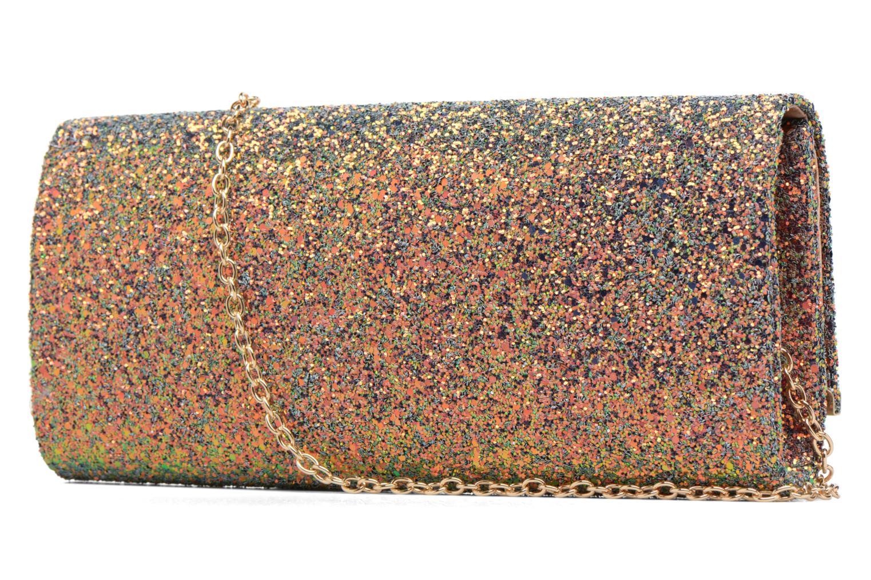 Handtassen Dorothy Perkins Large Structured Clutch Multicolor rechts