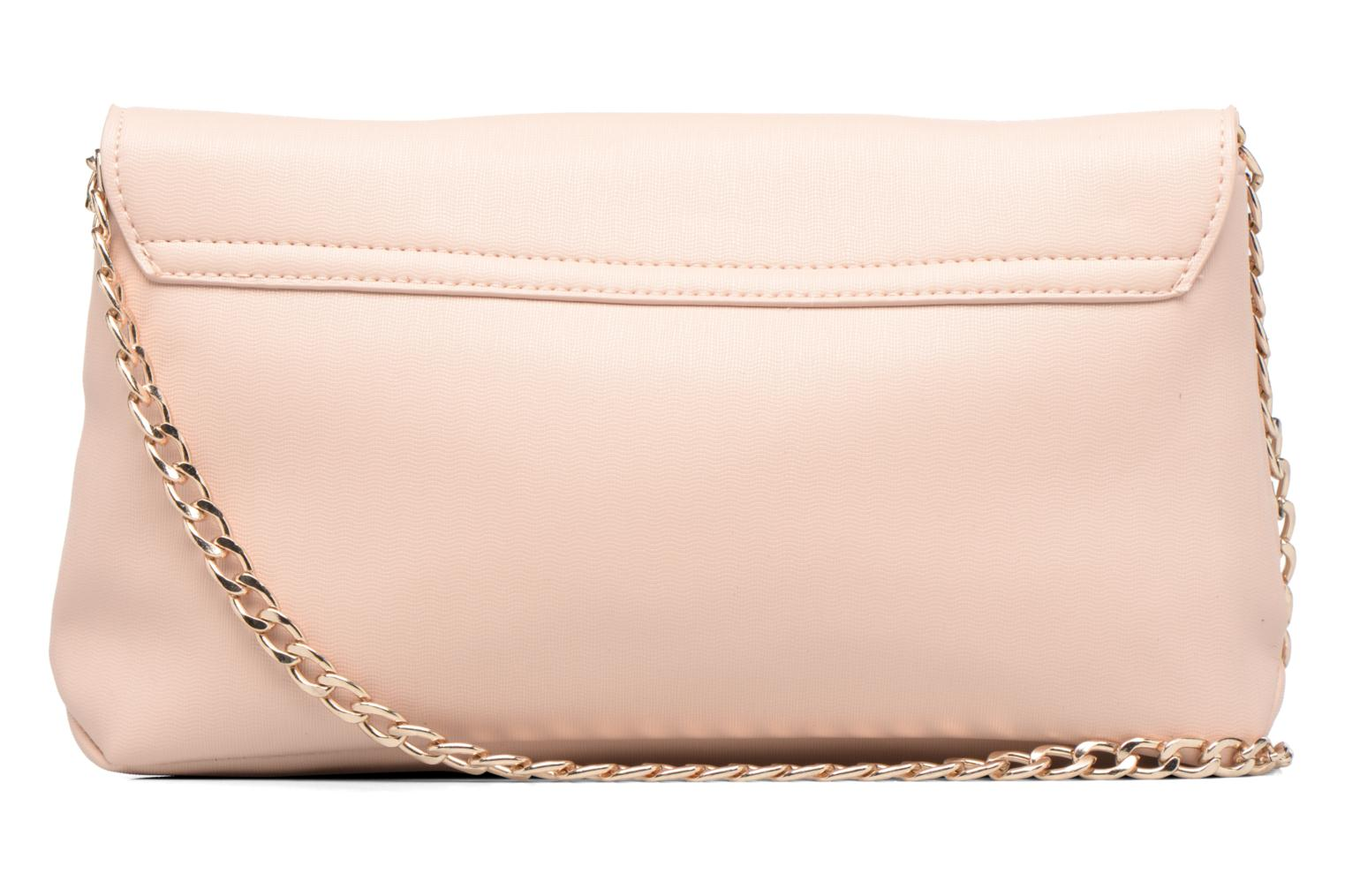 Large Structured Clutch Pink