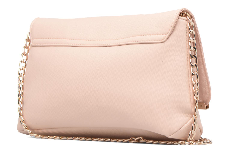 Handtassen Dorothy Perkins Large Structured Clutch Roze rechts