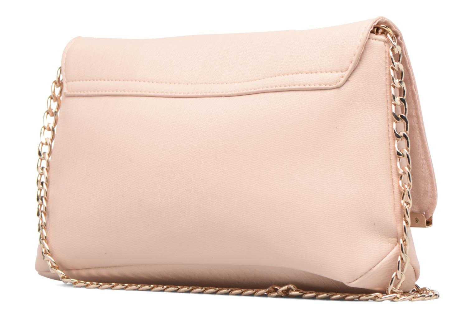 Handtassen Dorothy Perkins Large Structured Clutch Roze rechts