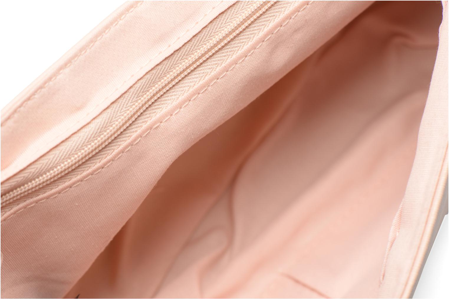 Borse Dorothy Perkins Large Structured Clutch Rosa immagine posteriore