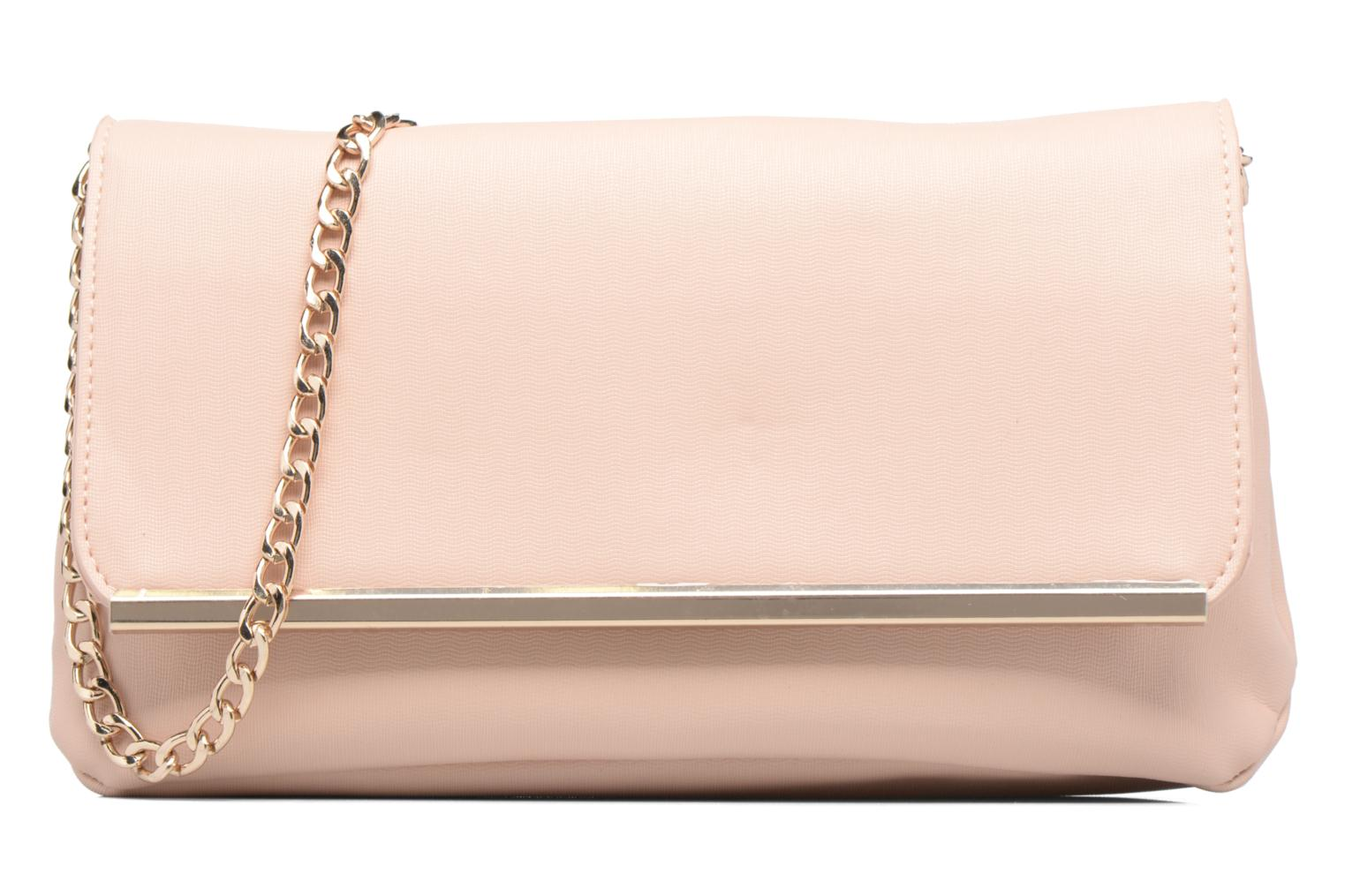 Handtassen Dorothy Perkins Large Structured Clutch Roze detail