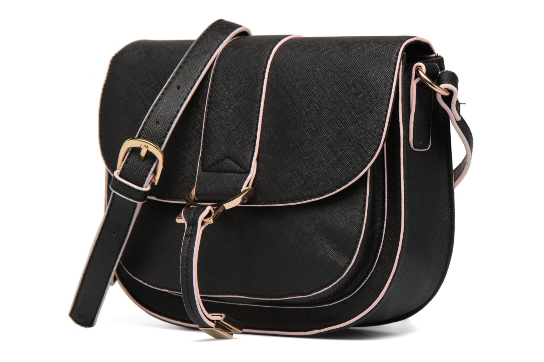 Whipstitch Saddle Black