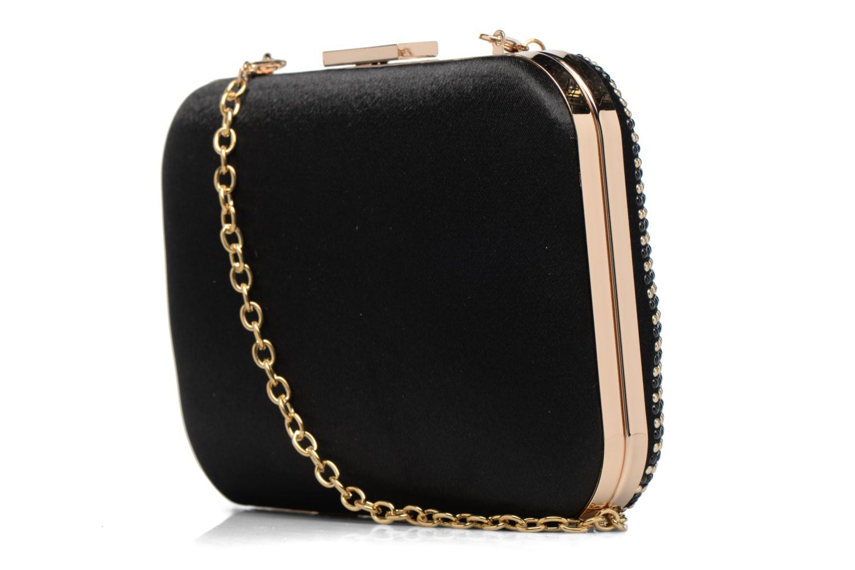 Studded Box Clutch Black