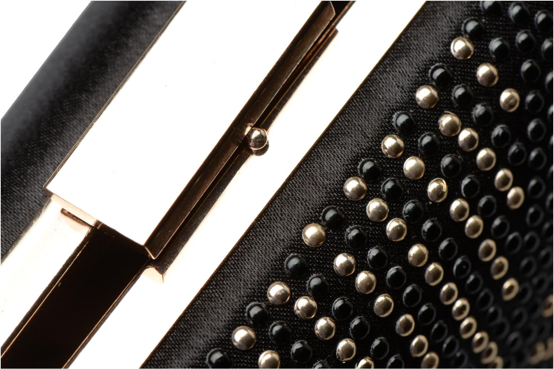 Sacs pochettes Dorothy Perkins Studded Box Clutch Noir vue gauche