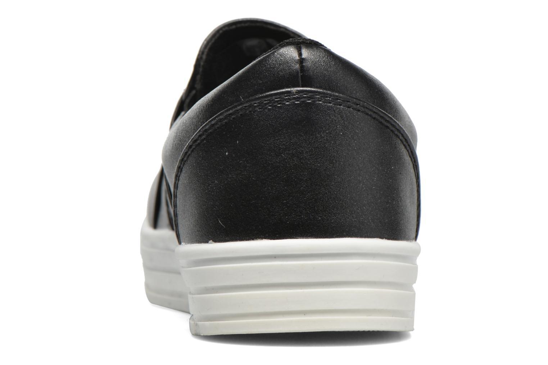 Deportivas I Love Shoes THEN Negro vista lateral derecha