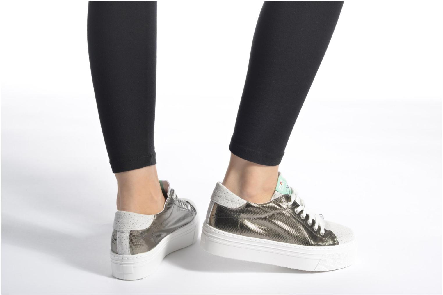 Sneakers Ippon Vintage Tokyo Heavy Argento immagine dal basso