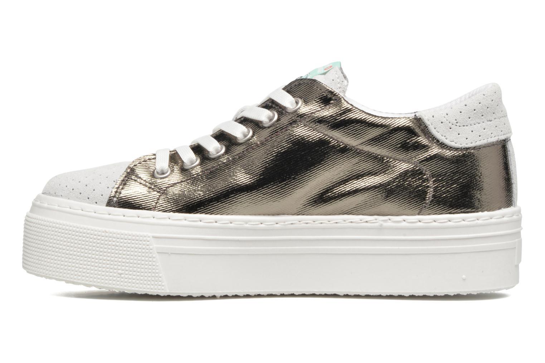 Sneakers Ippon Vintage Tokyo Heavy Zilver voorkant