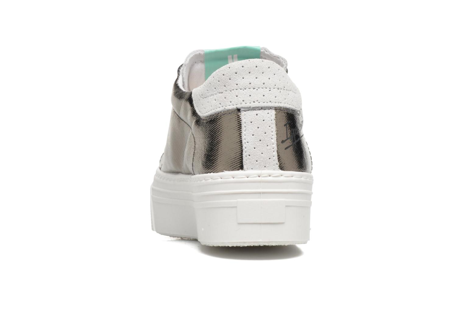 Sneakers Ippon Vintage Tokyo Heavy Argento immagine destra