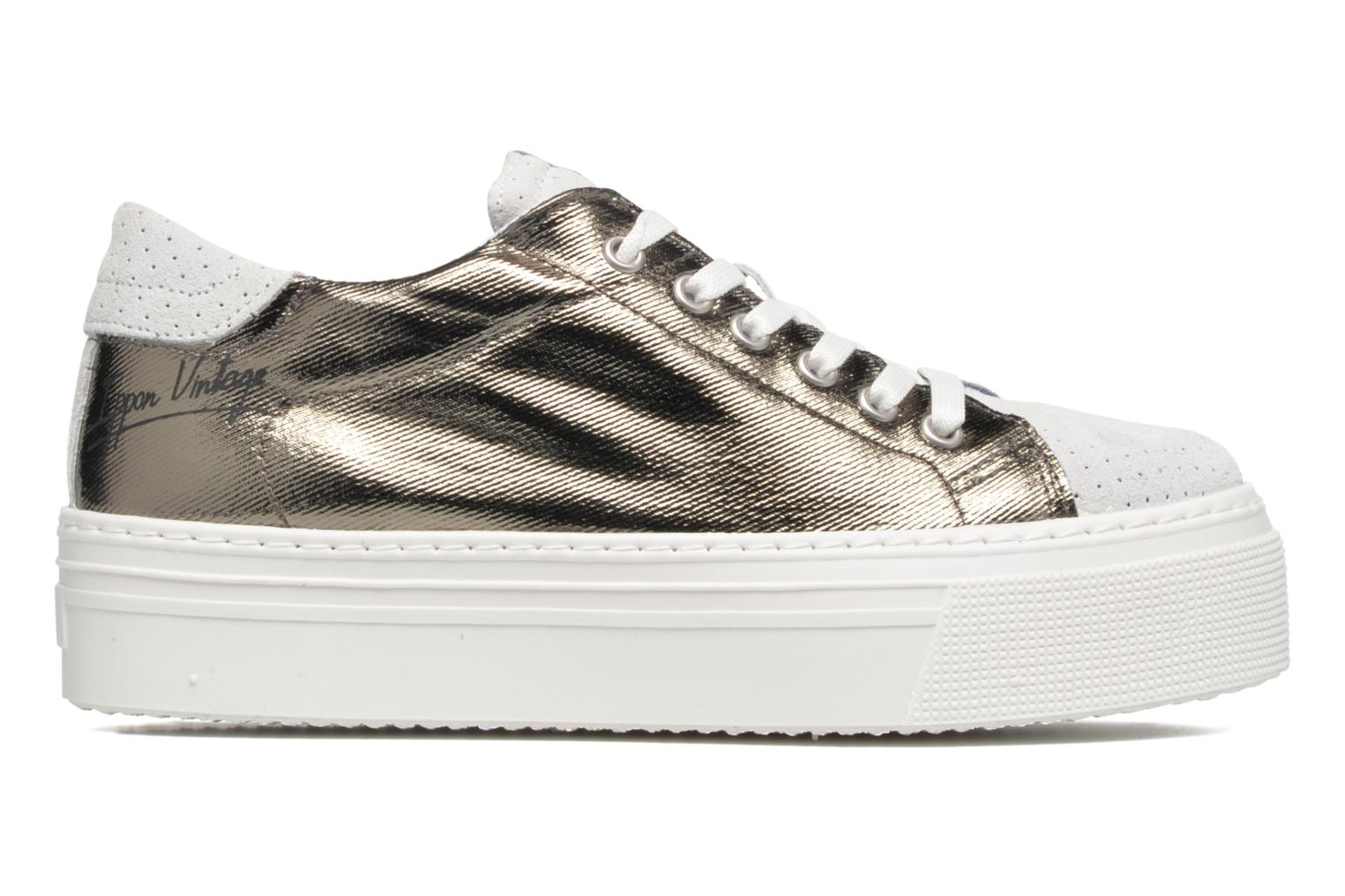 Sneakers Ippon Vintage Tokyo Heavy Argento immagine posteriore