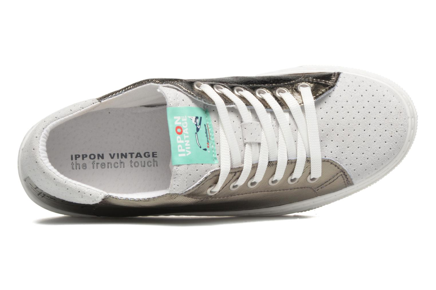 Sneakers Ippon Vintage Tokyo Heavy Argento immagine sinistra