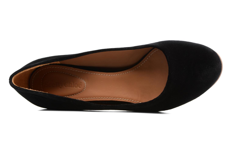 Zapatos de tacón See by Chloé Arina Pump Negro vista lateral izquierda