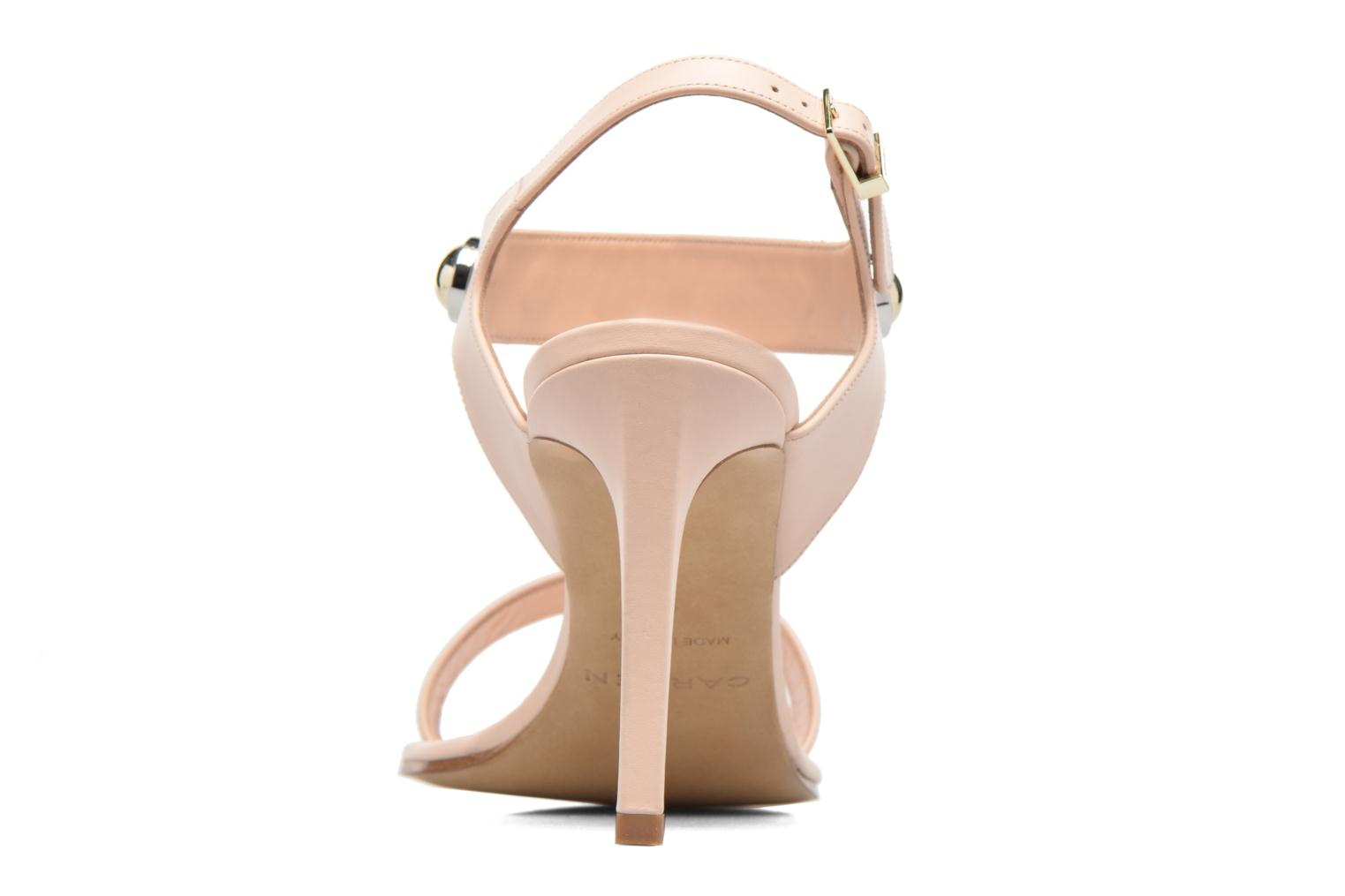 Sandali e scarpe aperte Carven Resonance High Sandal Beige immagine destra