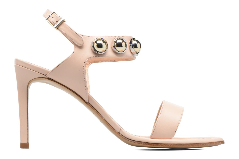 Sandales et nu-pieds Carven Resonance High Sandal Beige vue derrière