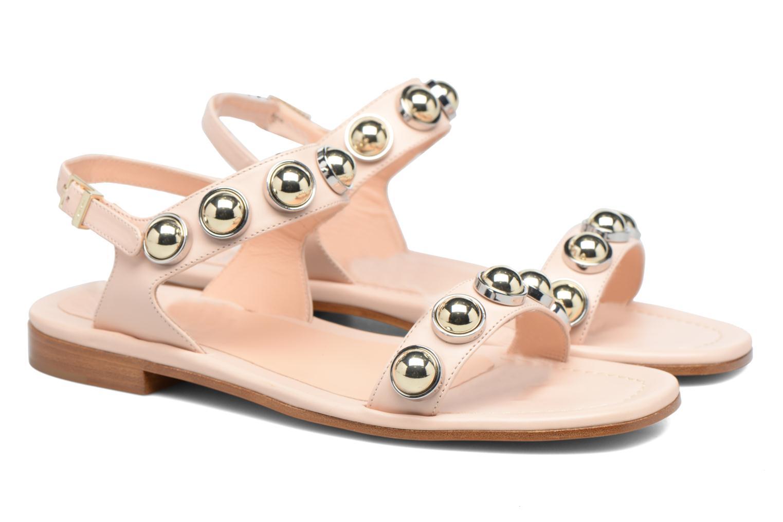 Sandali e scarpe aperte Carven Resonance Flat Beige immagine 3/4