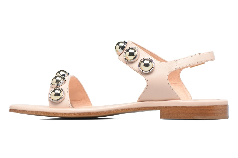 Sandali e scarpe aperte Carven Resonance Flat Beige immagine frontale