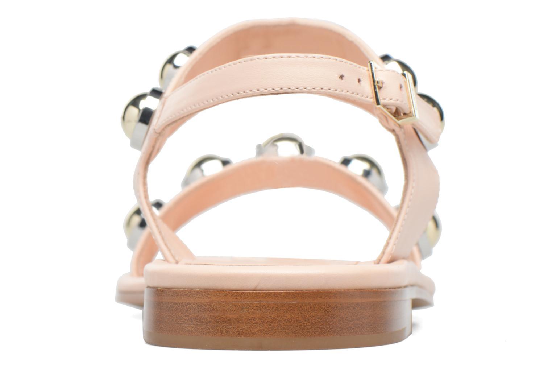 Sandali e scarpe aperte Carven Resonance Flat Beige immagine destra