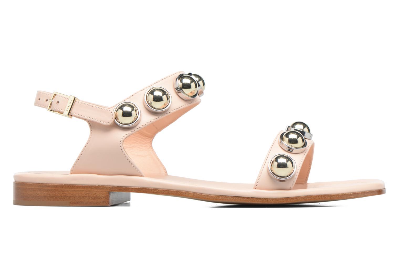 Sandali e scarpe aperte Carven Resonance Flat Beige immagine posteriore