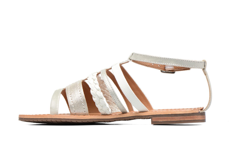 Sandali e scarpe aperte Geox D SOZY E D722CE Argento immagine frontale