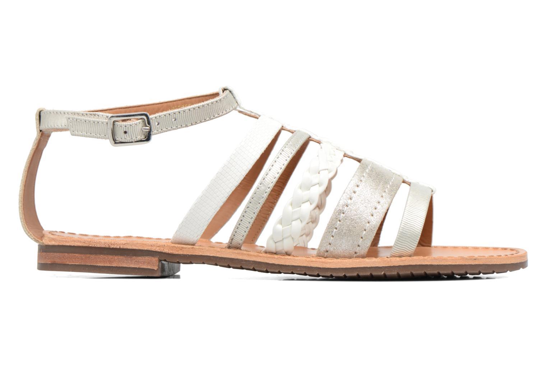Sandali e scarpe aperte Geox D SOZY E D722CE Argento immagine posteriore