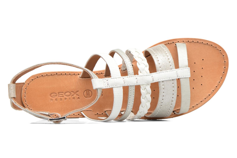Sandali e scarpe aperte Geox D SOZY E D722CE Argento immagine sinistra