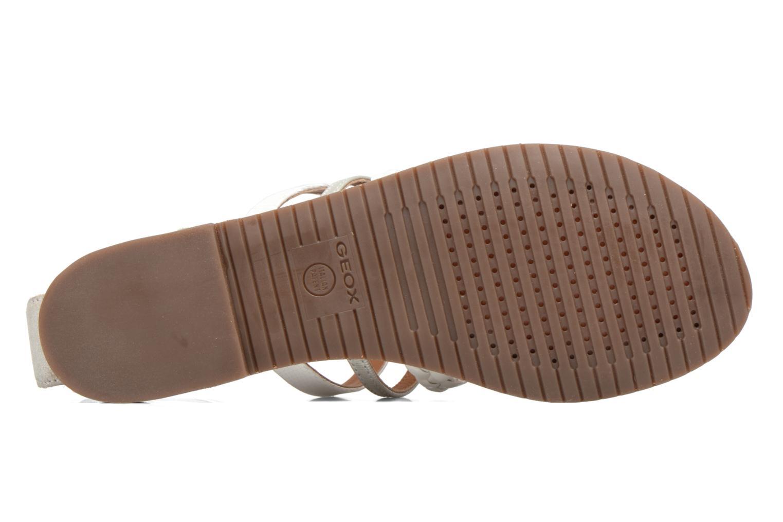 Sandali e scarpe aperte Geox D SOZY E D722CE Argento immagine dall'alto