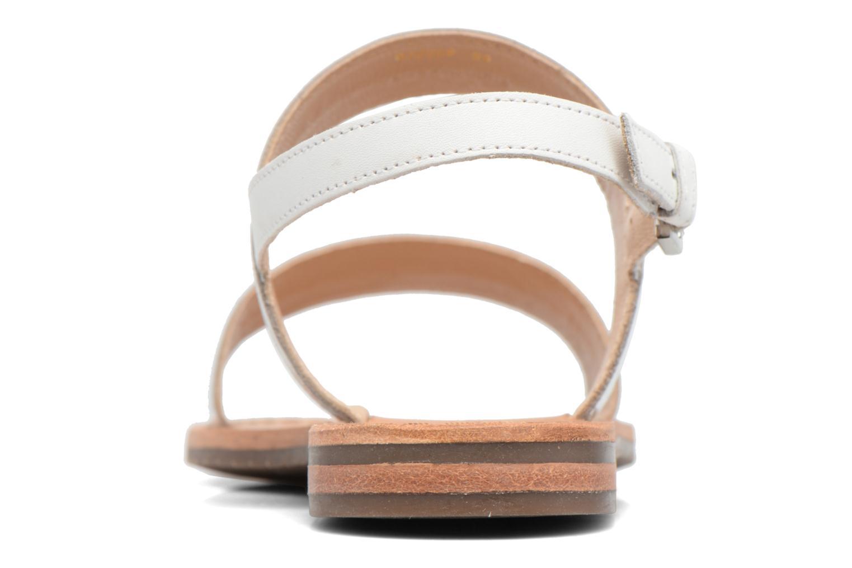 Sandali e scarpe aperte Geox D SOZY F D722CF Bianco immagine destra
