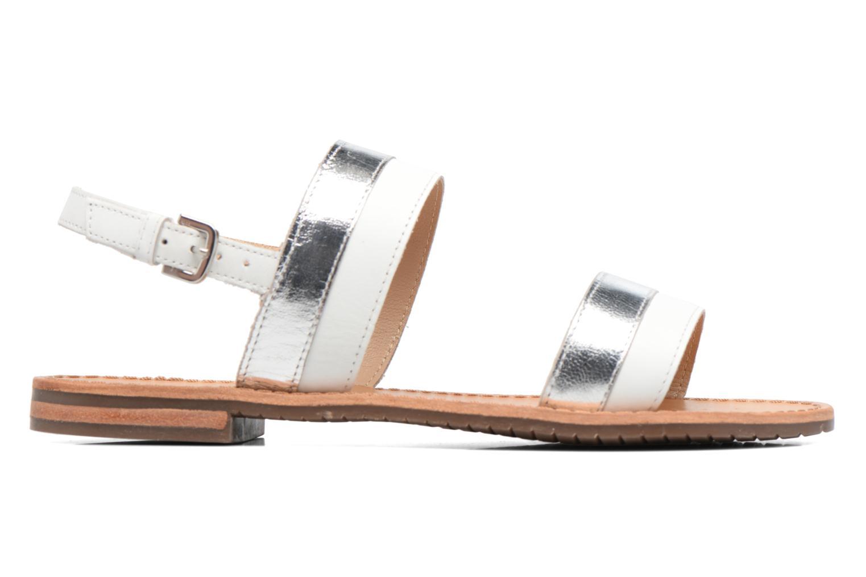 Sandali e scarpe aperte Geox D SOZY F D722CF Bianco immagine posteriore