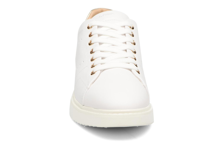 Baskets Geox D THYMAR A D724BA Blanc vue portées chaussures