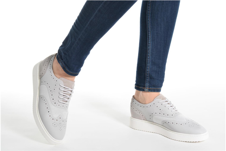 buy online a8c86 5a2d6 ... Zapatos promocionales Geox D THYMAR B D724BB (Gris) - Zapatos con  cordones Los últimos ...
