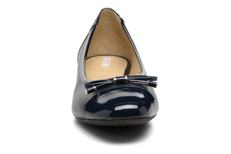 Ballerinas Geox D WISTREY F D724GF blau schuhe getragen